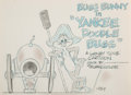 Animation Art:Concept Art, Yankee Doodle Bugs Title Card Concept Art by Willie Ito (Warner Brothers, 1954).... (Total: 2 )