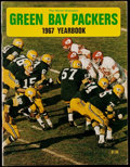 Football Collectibles:Programs, 1967 Green Bay Packers Yearbook. ...