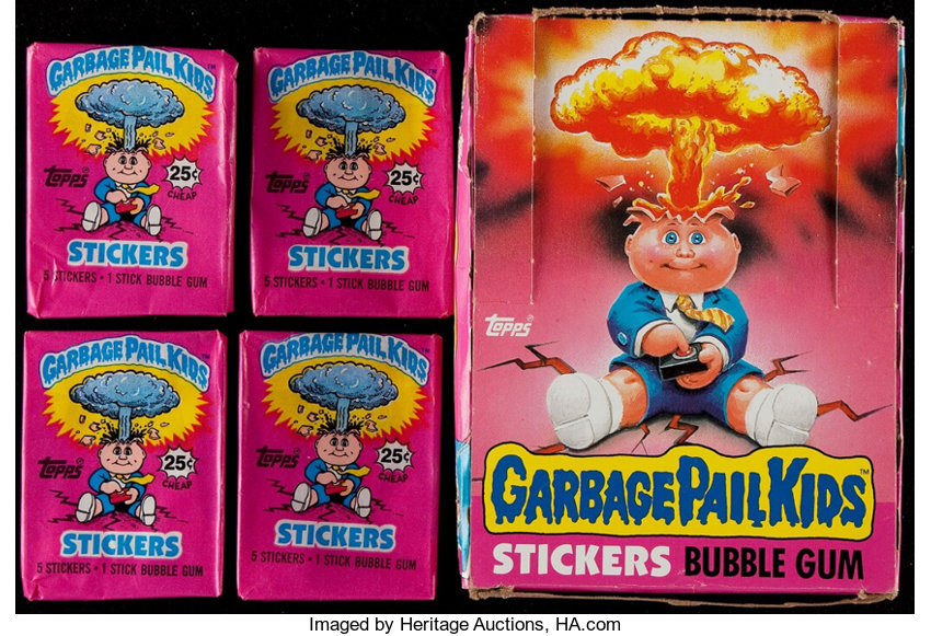 1985 Topps Garbage Pail Kids Series 1 Collection 56 With Empty Lot 42125 Heritage Auctions
