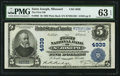 National Bank Notes:Missouri, Saint Joseph, MO - $5 1902 Plain Back Fr. 605 The First NB Ch. #4939. ...