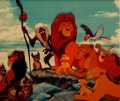 Animation Art:Poster, The Lion King Grand Opening Acetate Prints (Walt Disney,1994)....