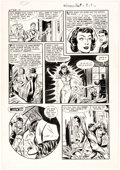 Original Comic Art:Panel Pages, John Belfi (attributed) Witches Tales #8 Story Page 4Original Art (Harvey, 1952)....