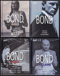"""Bond Series by Alastair Dougall (DK Publishing, 2010). Hardcover Books (4) (Multiple Pages, 7.5"""" X 9.5""""). Jame..."""