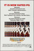 "Movie Posters:Drama, Saturday Night Fever (Paramount, 1977). One Sheet (27"" X 41"") PG Style & Mini Lobby Card Set of 8 (8"" X 10""). Drama.. ... (Total: 9 Items)"
