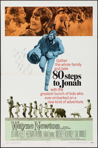80 Steps to Jonah & Others Lot (Warner Brothers-Seven Arts, 1969). Autographed One Sheet & One Sheets (8...
