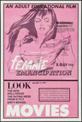 """Movie Posters:Adult, Female Emancipation & Others Lot (1970). One Sheets (3) (27"""" X 41""""). Adult.. ... (Total: 3 Items)"""