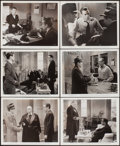 """Movie Posters:Film Noir, The Maltese Falcon (Warner Brothers, 1941). Photos (6) (8"""" X 10""""). Film Noir.. ... (Total: 6 Items)"""