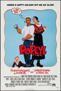 """Movie Posters:Musical, Popeye & Others Lot (Paramount, 1980). Flat Folded One Sheets (3) (27"""" X 41""""). Musical.. ... (Total: 3 Items)"""