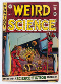Golden Age (1938-1955):Science Fiction, Weird Science #8 (EC, 1951) Condition: FN....