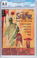 Silver Age (1956-1969):Science Fiction, Doctor Solar, Man of the Atom #1 (Gold Key, 1962) CGC VF+ 8.5 Creamto off-white pages....