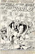 Original Comic Art:Complete Story, John Buscema and Vince Colletta Thor #197 Complete 21-Page Story Original Art (Marvel, 1972).... (Total: 22 Items)
