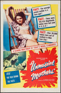 "Movie Posters:Exploitation, Unmarried Mothers & Others Lot (President Films, 1956). OneSheets (4) (27"" X 41""). Exploitation.. ... (Total: 4 Items)"