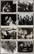 "Movie Posters:Hitchcock, The Wrong Man (Warner Brothers, 1957). Photos (37) (8"" X 10""). Hitchcock.. ... (Total: 37 Items)"