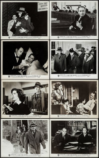 "The Wrong Man (Warner Brothers, 1957). Photos (37) (8"" X 10""). Hitchcock. ... (Total: 37 Items)"