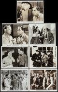 """Movie Posters:Crime, Black Legion (Warner Brothers, 1937). Photos (4) (8"""" X 10"""") &Trimmed Photos (3) (8"""" X 9.5). Crime.. ... (Total: 7 Items)"""