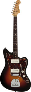 Musical Instruments:Electric Guitars, 1961 Fender Jazzmaster Sunburst Solid Body Electric Guitar,#68548....