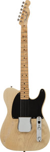 Musical Instruments:Electric Guitars, 1953 Fender Esquire Blonde Solid Body Electric Guitar, Serial#3579....