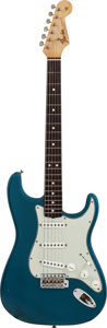 Musical Instruments:Electric Guitars, 1965 Fender Stratocaster Lake Placid Blue Solid Body ElectricGuitar, Serial #L63247....