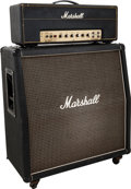 Musical Instruments:Amplifiers, PA, & Effects, Circa 1969-1974 Marshall JMP Black Guitar Amplifier, #10236.... (Total: 2 )
