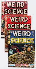 Golden Age (1938-1955):Science Fiction, Weird Science Group of 5 (EC, 1952-53) Condition: Average VG....(Total: 5 Comic Books)