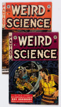 Golden Age (1938-1955):Science Fiction, Weird Science #19 and 21 Group (EC, 1953) Condition: AverageGD/VG.... (Total: 2 Comic Books)