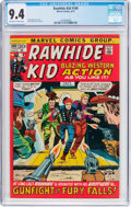 Bronze Age (1970-1979):Western, Rawhide Kid #100 (Marvel, 1972) CGC NM 9.4 Off-white to white pages....