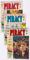 Golden Age (1938-1955):Adventure, Piracy Group of 6 (EC, 1954-55) Condition: Average VG+.... (Total:6 Comic Books)