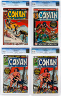 Bronze Age (1970-1979):Adventure, Conan the Barbarian CGC-Graded Group of 5 (Marvel, 1972-82).... (Total: 5 Comic Books)