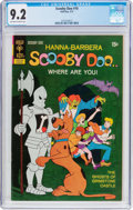 Bronze Age (1970-1979):Cartoon Character, Scooby Doo #10 (Gold Key, 1972) CGC NM- 9.2 Off-white to whitepages....