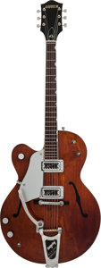 Musical Instruments:Electric Guitars, 1962 Gretsch Tennessean Mahogany Semi-Hollow Body Electric Guitar,#46095....