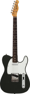 Musical Instruments:Electric Guitars, 1966 Fender Telecaster Charcoal Frost Solid Body Electric Guitar,#170379....