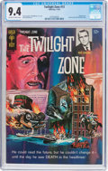 Silver Age (1956-1969):Horror, Twilight Zone #13 (Gold Key, 1965) CGC NM 9.4 Off-white to whitepages....
