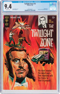 Silver Age (1956-1969):Horror, Twilight Zone #15 (Gold Key, 1966) CGC NM 9.4 Off-white pages....