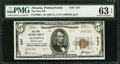 National Bank Notes:Pennsylvania, Altoona, PA - $5 1929 Ty. 2 The First NB Ch. # 247. ...
