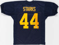 Football Collectibles:Uniforms, James Starks Signed Green Bay Packers Jersey....