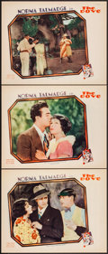 """Movie Posters:Romance, The Dove (United Artists, 1927). Lobby Cards (3) (11"""" X 14""""). Romance.. ... (Total: 3 Items)"""
