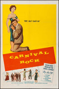 "Movie Posters:Rock and Roll, Carnival Rock (Howco, 1957). One Sheet (27"" X 41""). Rock and Roll.. ..."