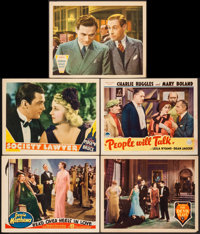 """Head Over Heels in Love & Others Lot (Gaumont, 1937). Lobby Cards (5) (11"""" X 14""""). Musical. ... (Total..."""