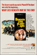 """Movie Posters:Science Fiction, Beneath the Planet of the Apes (20th Century Fox, 1970). One Sheet (27"""" X 41""""). Science Fiction.. ..."""