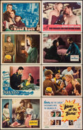"Movie Posters:War, China Girl & Others Lot (20th Century Fox, 1942). Lobby Cards(11) & Title Lobby Card (11"" X 14""). War.. ... (Total: 12Items)"