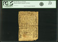 Colonial Notes:Rhode Island, Rhode Island May 3, 1775 10 Shillings Fr. RI-182. PCGS Fine 15Apparent.. ...