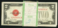 Small Size:Legal Tender Notes, Fr. 1508 $2 1928G Legal Tender Notes. Original Pack of 100. . ... (Total: 100 notes)