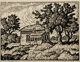 Birger Sandzén (American, 1871-1954) Smokey Valley Homestead Linocut 9 x 12 inches (22.9 x 30.5 cm) (image) Signe...