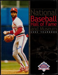 Autographs:Others, 2002 Ozzie Smith Signed National Baseball Hall of Fame Yearbook. ...