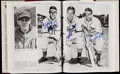 Autographs:Others, The American League and National League Multi-Signed Books (2). ...