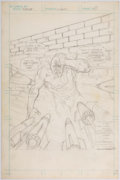 Original Comic Art:Splash Pages, Rich Buckler Flash #271 Splash Page 1 Preliminary ArtOriginal Art (DC, 1979)....