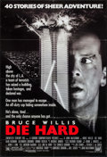 "Movie Posters:Action, Die Hard (20th Century Fox, 1988). One Sheet (27"" X 40""). Action....."