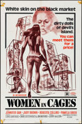 "Movie Posters:Sexploitation, Women in Cages (New World, 1971). One Sheet (27"" X 41"").Sexploitation.. ..."