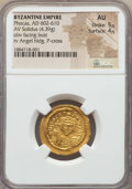 Ancients:Byzantine, Ancients: Phocas (AD 602-610). AV solidus (4.39 gm). NGC AU 5/5 -4/5....