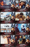 "Movie Posters:James Bond, Tomorrow Never Dies (United Artists, 1997). International LobbyCard Set of 8 (11"" X 14""). James Bond.. ... (Total: 8 Items)"